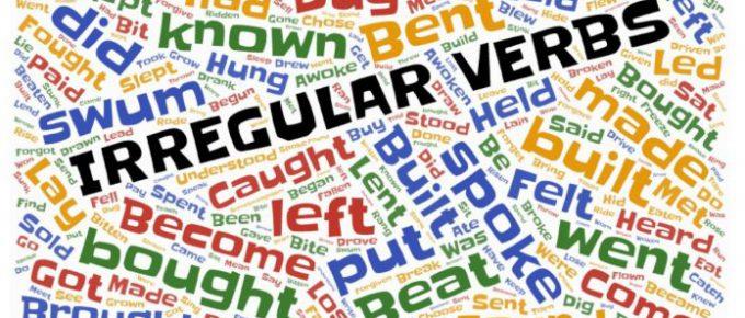 nepravilni glagoli engleski